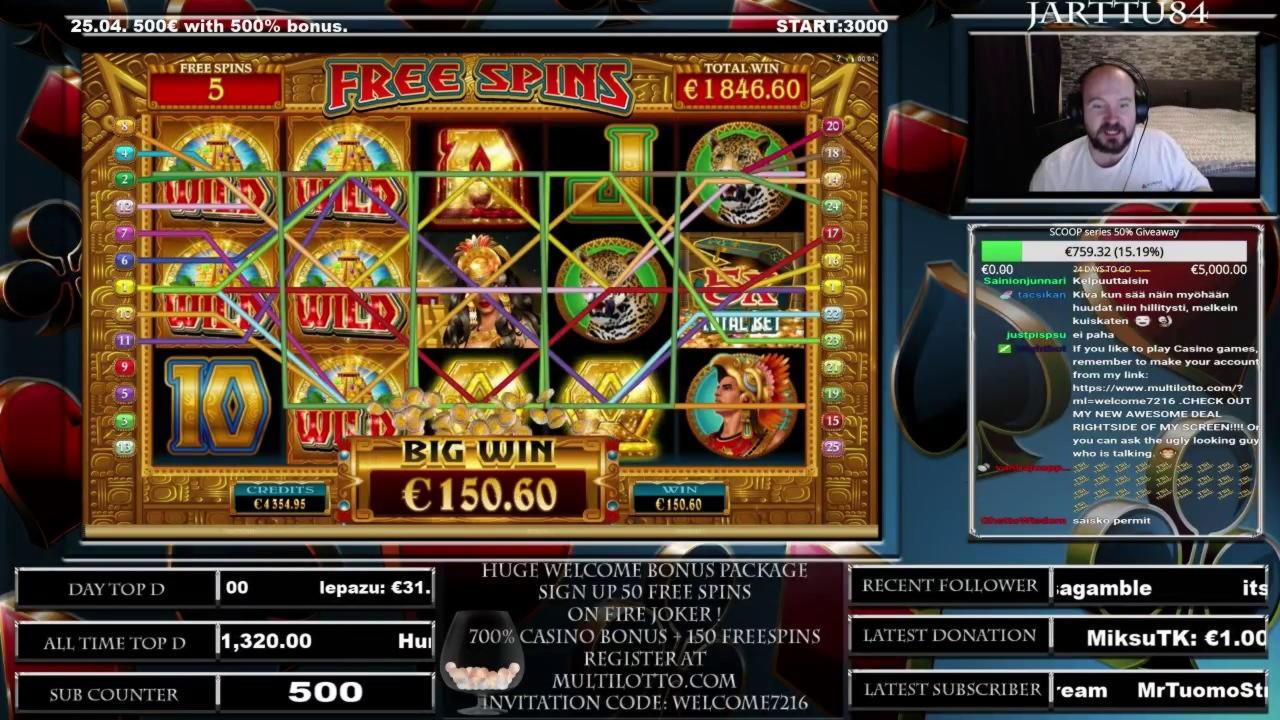 EUR 4470 no deposit bonus casino at Spin Palace Casino