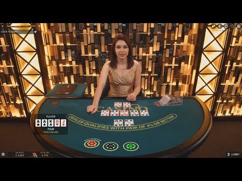Casino Holdem Session Live Dealer £50 to £600 Hands